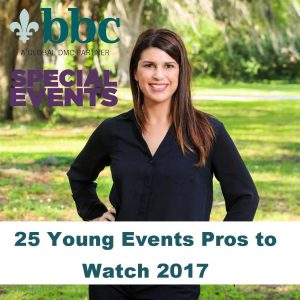 BBC Senior Account Executive, Jill Lambert, Makes Special Events'  25 Young Events Pros to Watch 2017