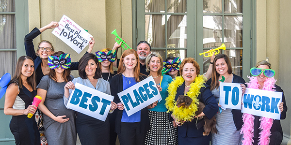 2015 Best Place to Work: Thanks to Trust