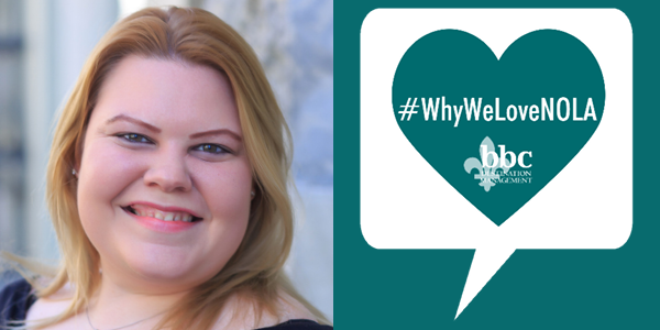 #WhyWeLoveNola: Christina Pohlmann, Operations Mgr.