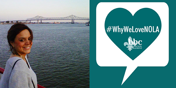 #WhyWeLoveNola: Katy Bertrand, Creative Services Mgr.